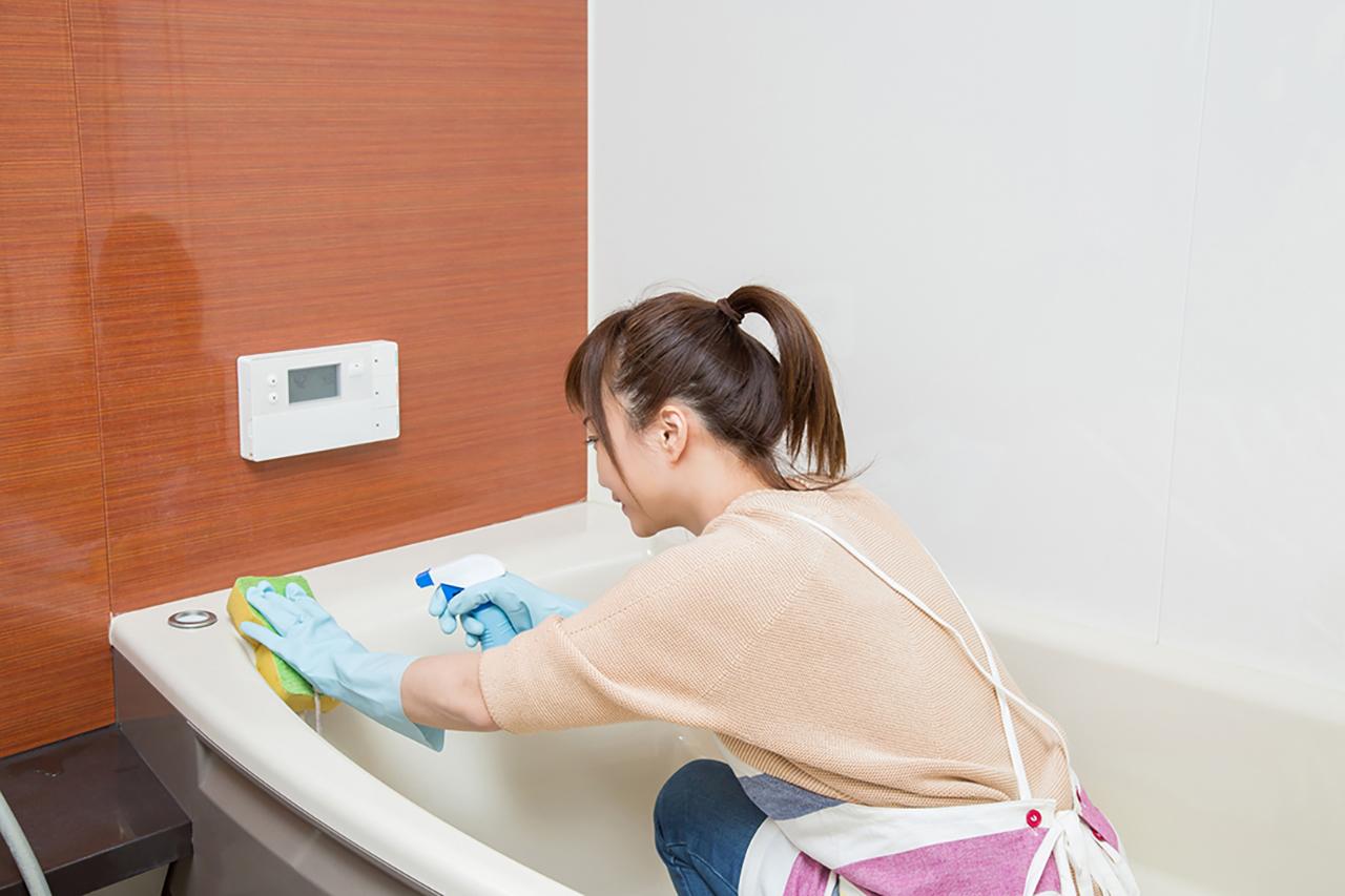 お風呂の掃除はもうこすらないでもよい??新しいお掃除方法をご紹介